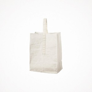 푸에브코 grocery bag with handle - large white