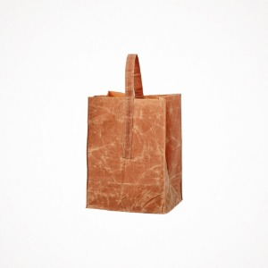 푸에브코 grocery bag with handle - large brown