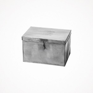 푸에브코 steel container with partition - large, natural